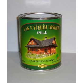 APILAK lak na dřevo do interiéru s včelím voskem