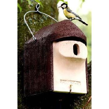 Ptačí budka 2GR otvor ovál 3 x 45 mm s ochranou proti kočkám