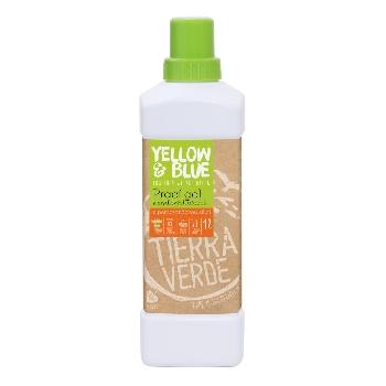 Yellow and Blue Prací gel z mýdlových ořechů s pomerančovou silicí 1l