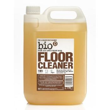 Bio D Čistič na podlahy a parkety s lněným olejem 5l