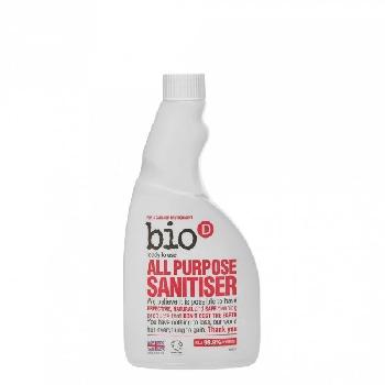 Bio D Univerzálny čistič s dezinfekciou náhradná náplň 500 ml