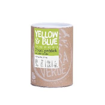 Yellow and Blue Prací přášek na bílé prádlo a dětské pleny dóza 850 g