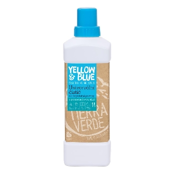 Yellow and Blue Univerzálny čistič z mydlových orechov 1l