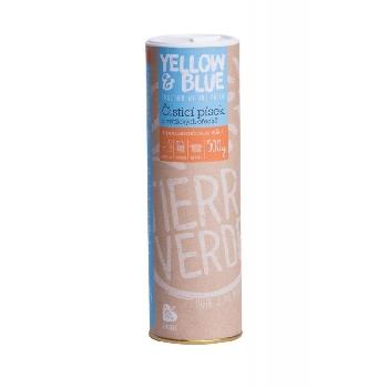 Yellow and Blue Čistící písek z prášku z mýdlových ořechů dóza 500g