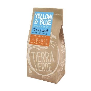 Yellow and Blue Čistiaci piesok z prášku z mydlových orechov 1kg