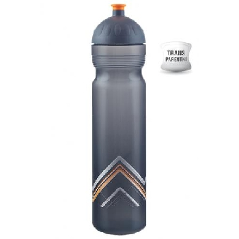 Zdravá lahev Bike Hory oranžová 1000 ml