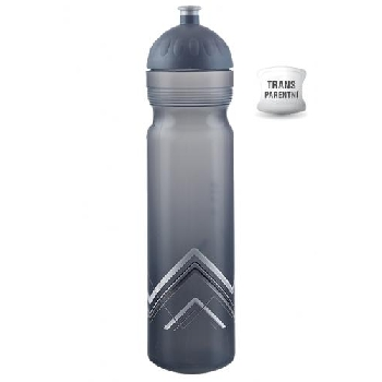Zdravá fľaša Bike Hory sivá 1000 ml