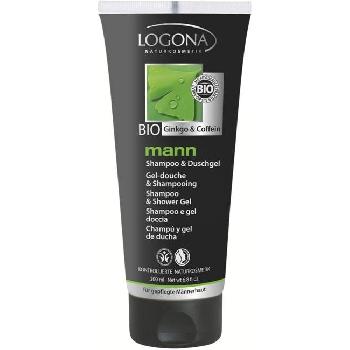 Logona Mann Šampon a sprchový gel Bio Gingko a Kofein 200ml