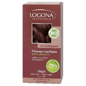 Logona Henna Barva na vlasy Mahagon 100g