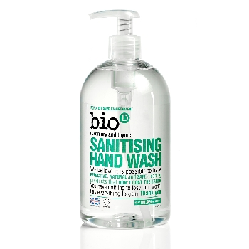 Bio D Tekuté mydlo na ruky s vôňu rozmarínu a tymianu s pumpičkou 500ml
