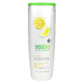 Neobio Sprchový gel Vitality Bio Pomeranč a Limetka 250ml