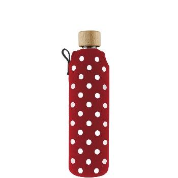 Drink it Sklenená fľaša s neoprénovým obalom Ferda 350ml