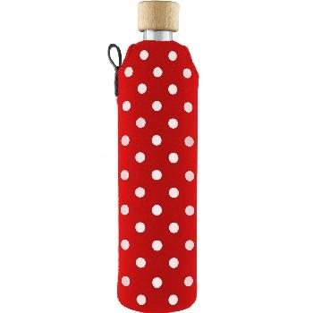 Drink it Skleněná láhev s neoprénovým obalem Ferda 500ml