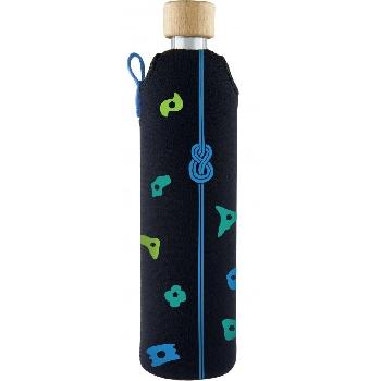 Drink it Sklenená fľaša s neoprénovým obalom Horolezec 500ml