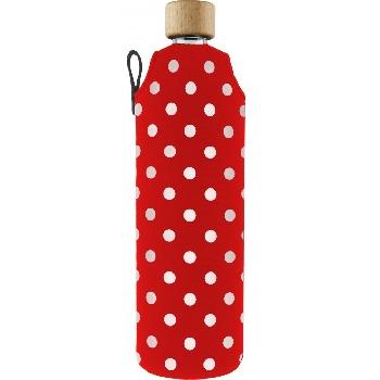 Drink it Skleněná láhev s neoprénovým obalem Ferda 700ml