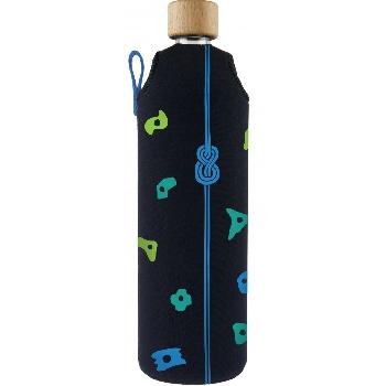 Drink it Sklenená fľaša s neoprénovým obalom Horolezec 700ml