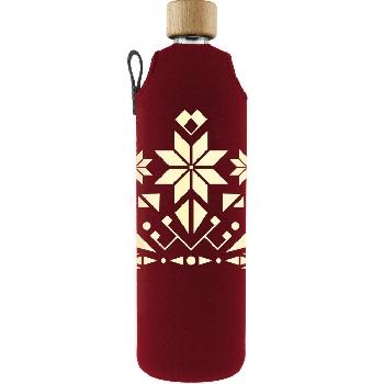 Drink it Skleněná láhev s neoprénovým obalem Norek 700ml