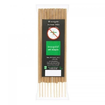Incognito Repelentní vonné tyčinky proti hmyzu 10 ks