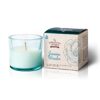 The Greatest Candle Vonná svíčka ve skle jasmínový zázrak 75g