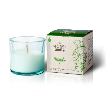 The Greatest Candle Vonná svíčka ve skle mojito 75g