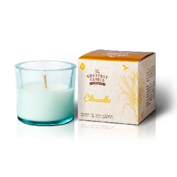 The Greatest Candle Vonná svíčka ve skle citronela 75g