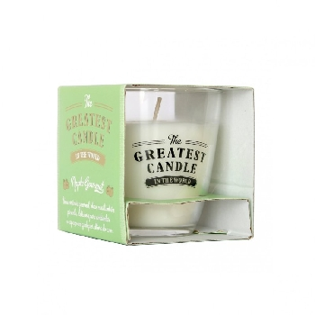 The Greatest Candle Vonná svíčka ve skle jablko 130g