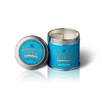 The Greatest Candle Vonná sviečka v plechovke jazmínový zázrak 200g