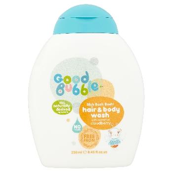 Good Bubble Dětská mycí emulze a šampón Ostružiník moruška 250ml