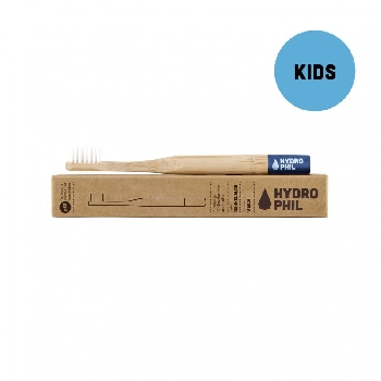 Bambusová kefka pre deti soft modrý