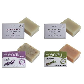 Friendly Soap sada pre ženy 4ks