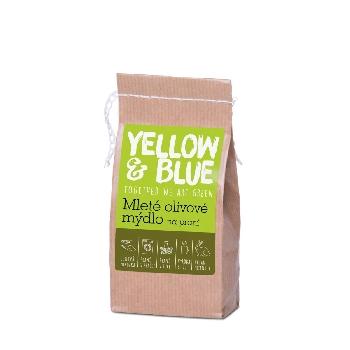 Yellow and Blue Mleté olivové mydlo na pranie 200 g