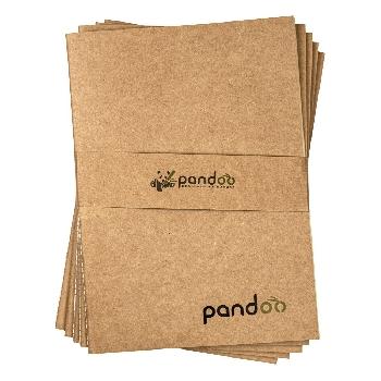 Pandoo Poznámkový blok z bambusových vláken A4 5 ks