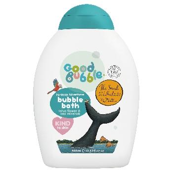 Good Bubble Snail and the Whale Dětská pěna do koupele Lotosový květ a Mořské minerály 400ml