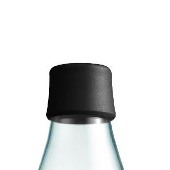 Viečko k fľaši Retap Čierné