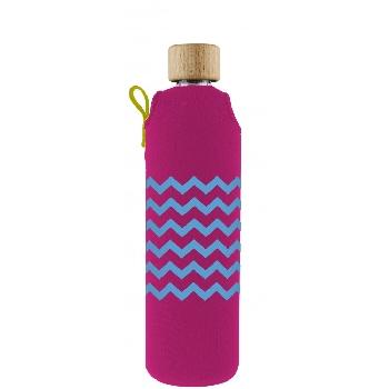 Drink it Sklenená fľaša s neoprénovým obalom Heligonka 350ml