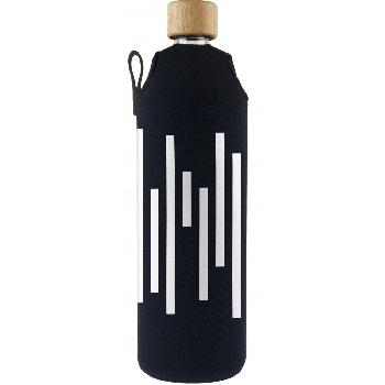 Drink it Sklenená fľaša s neoprénovým obalom Barcode 700ml
