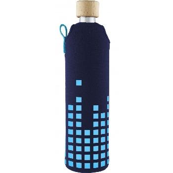 Drink it Sklenená fľaša s neoprénovým obalom Dešťovka 500ml