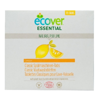 Ecover Essential Tablety do myčky Classic Citron 1,4 kg