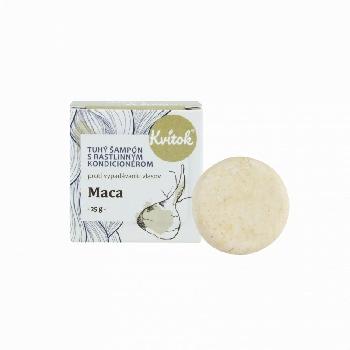 Kvitok Tuhý šampón s kondicionérom Maca 25 g
