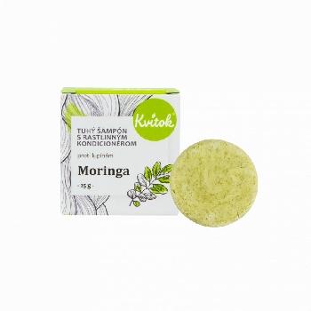 Kvitok Tuhý šampón s kondicionérom Moringa 25 g
