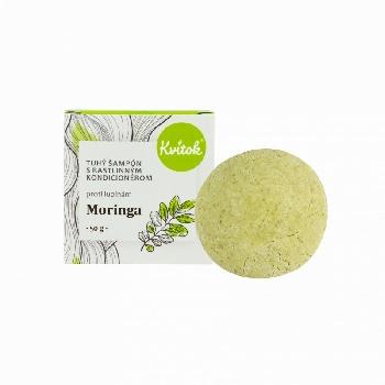 Kvitok Tuhý šampón s kondicionérom Moringa XXL 50 g