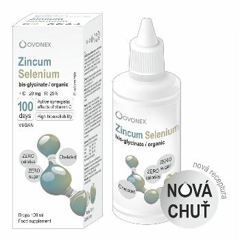 Minerals70 Liquid Zincum Selenium Koncentrát s vysokým obsahom zinku a selénu 100 ml