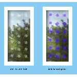 UV samolepky listy lipy