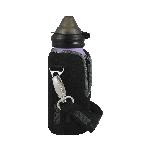 Neoprénový termoobal na fľašu ECO Bottle 400ml čierny
