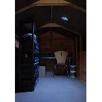 Stropné solárne osvetlenie Vortex 36 LED