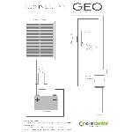 Geo 1 sada solárneho osvetlenia