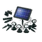 Solárne bodové osvetlenie Quattro Power