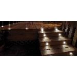 Solárne nerezové podlahové osvetlenie Edinburgh