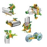 Solárny recyklátor vzdelávacie hračka 6 v 1