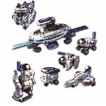 Space Explorer solárna hračka 7 v 1
